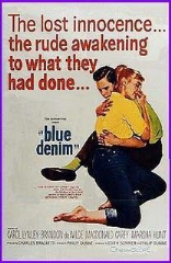 Blue Denim 1959 DVD - Carol Lynley / Brandon De Wilde